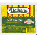 Nathan's Beef Franks Skinless 8ct