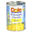 Dole Pineapple Chunks in Juice 20oz
