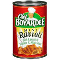 Chef Boyardee Mini Ravioli 15oz can