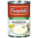 Campbell's Condensed 98% Fat Free Cream of Mushroom Soup 10oz