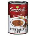 Campbell's Condensed Vegetable Beef Soup 10oz