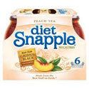 Snapple Diet Iced Tea Peach 6pk