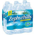 Zephyrhills Natural Spring Water 6 pack 24 oz bottles