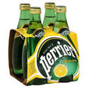Perrier Sparkling Water Lemon 4ct 11oz bottles