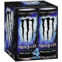 Monster Energy Drink Absolute Zero 4 pack