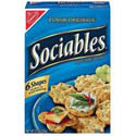 Nabisco Sociables Crackers