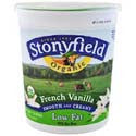 Stoneyfield Farm All Natural Low Fat French Vanilla Yogurt 32oz