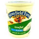 Stonyfield Farm All Natural Low Fat Yogurt Plain 32oz
