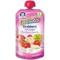 Gerber Graduates Grabbers Fruit & Yogurt Strawberry Banana