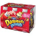 Danimals Swingin' Strawberry Banana Smoothie 6ct