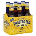 Twisted Tea Original Hard Iced Tea Malt Beverage 6 Pack Bottles