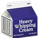 Store Brand Whipping Cream 16oz