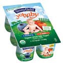 Stonyfield Farm Yobaby Blueberry & Apple 6ct