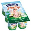 Stonyfield Farm Yobaby Yogurt Vanilla 6ct