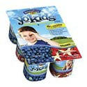 Stonyfield YoKids Blueberry & Strawberry Vanilla 6pk