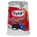 Yoplait Original Yogurt 99% Fat Free Blueberry 6oz
