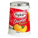Yoplait Original Yogurt 99% Fat Free Peach 6oz