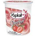 Yoplait Original Yogurt 99% Fat Free Strawberry 6oz