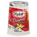 Yoplait Original Yogurt 99% Fat Free French Vanilla 6oz