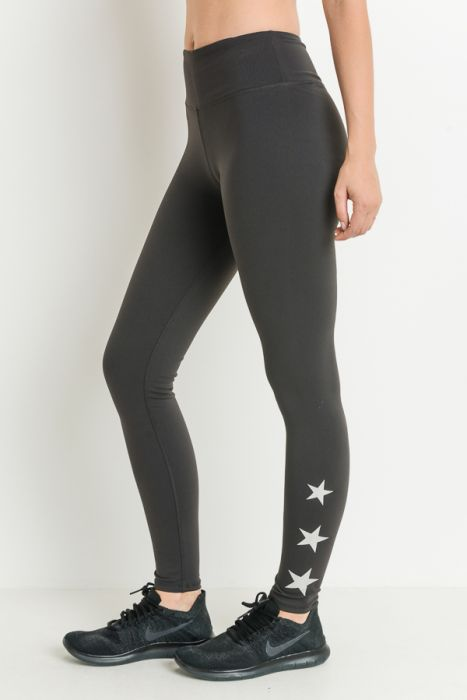 High Waist Shine Bright Leggings
