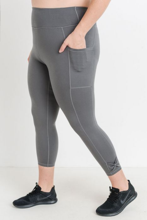 JP High Waist Leggings - Grey