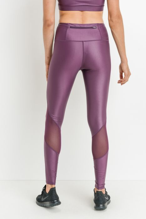 High Waist Liquid Glazed Leggings