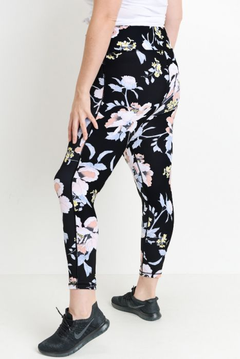 JP High Waist Floral Leggings