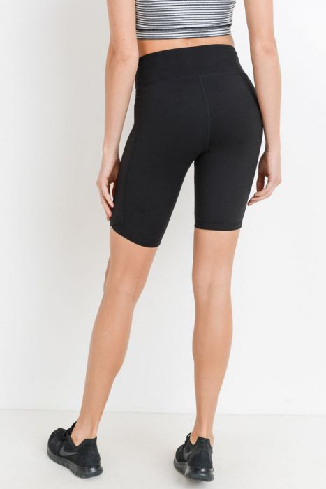 Bermuda High Waist Legging-Short