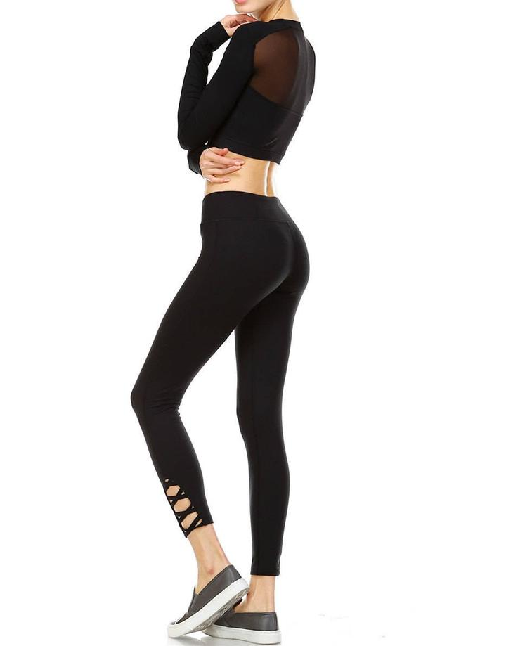 JP Signature Criss-Cross Leggings