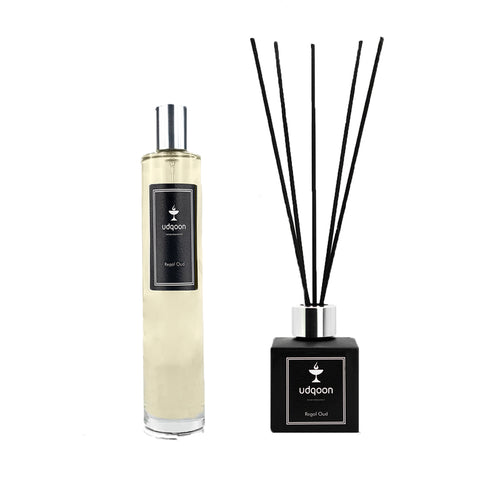 Regal Oud Set (Room Spray and Diffuser)