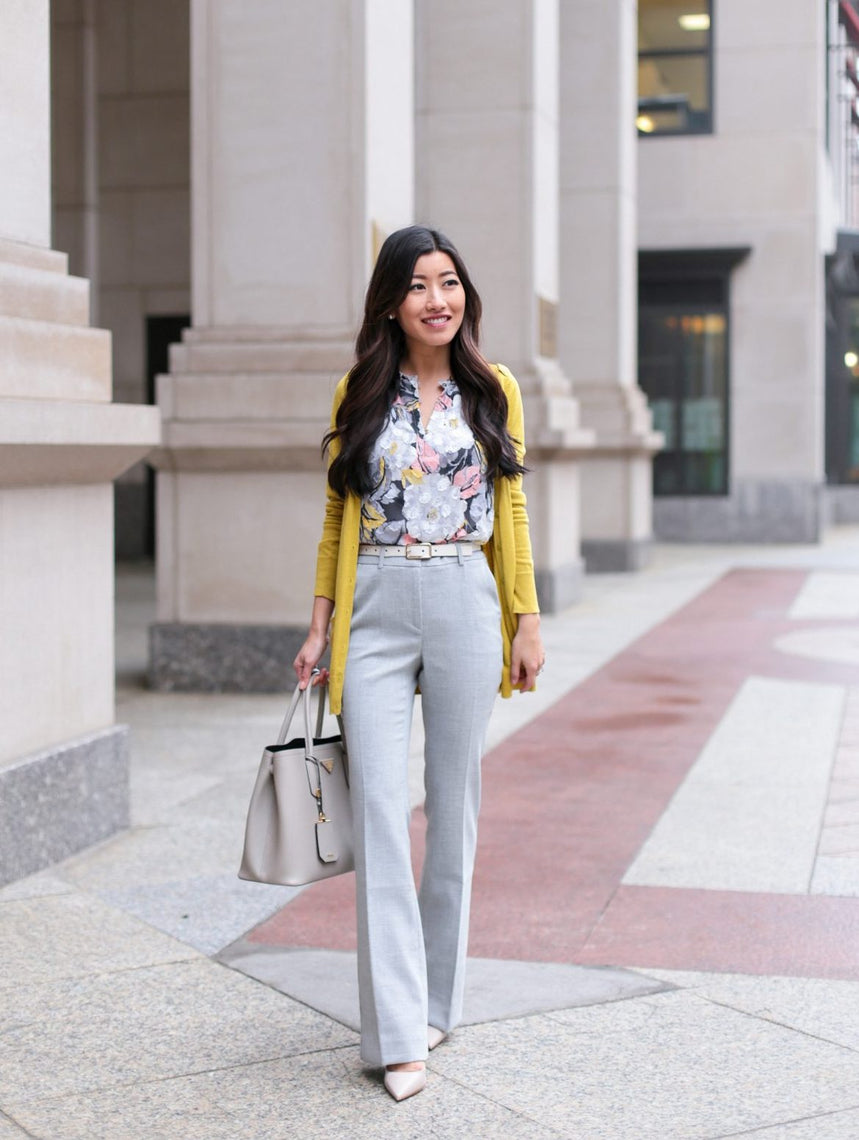 Floral And Ruffles Outfit by Style
