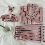 Two Piece Striped Pyjamas