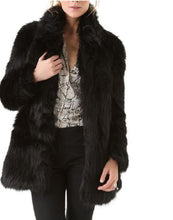 Beautiful Black Faux Fur Coat