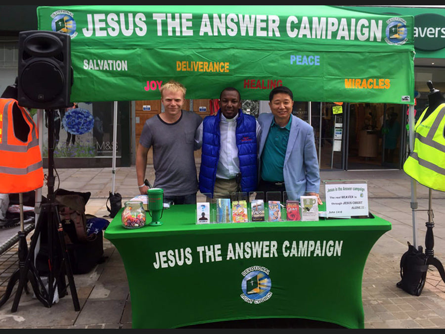 Jesus The Answer Campaign