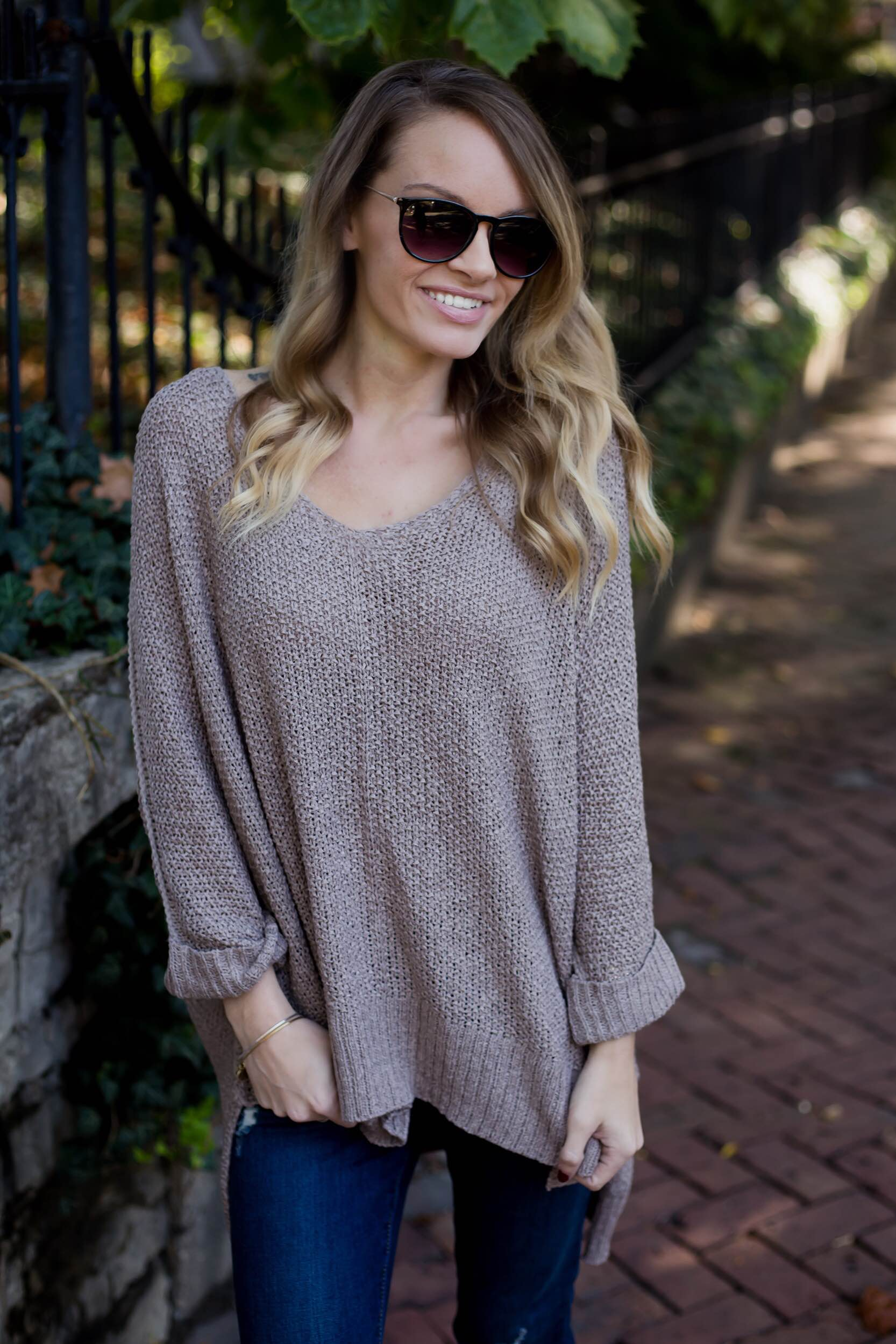 Slouchy Knit Sweater