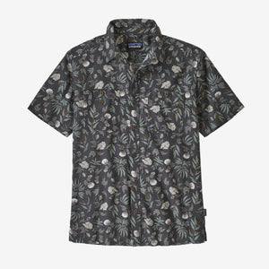 Men's Back Step Shirt - Fiber Flora Multi: Forge Grey