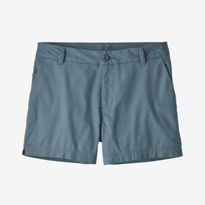 Women's Stretch All-Wear Shorts 4 inch - Pigeon Blue