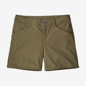 Women's Quandary Short 5 inch - Fatigue Green