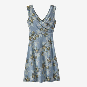Women's Porch Song Dress - Squash Blossom: Berlin Blue