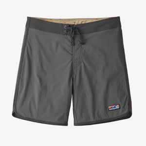 Men's Scallop Hem Stretch Boardshort - 18 inch - Forge Grey