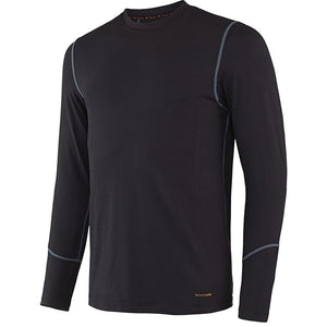 Terramar Men's Thermolator 2.0 Crew - Black