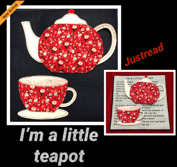 Felt Nursery Rhymes - Little Teapot - JustRead.com.au