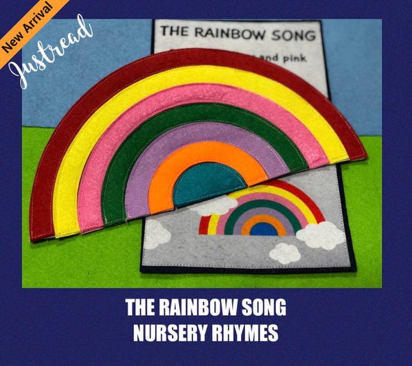 Felt Nursery Rhymes - Rainbow - JustRead.com.au
