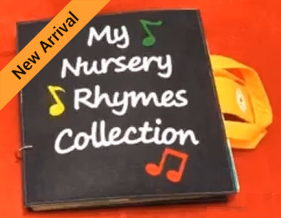 Quiet Book - Nursery Rhymes Collection - JustRead.com.au