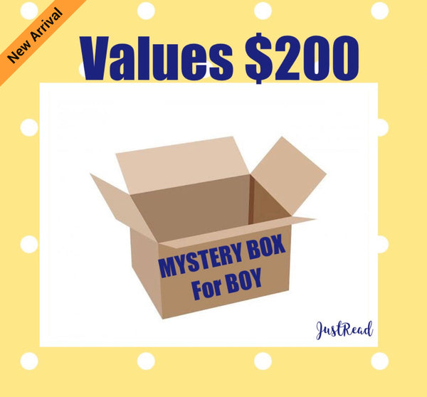 Mystery Box for Boy - JustRead.com.au