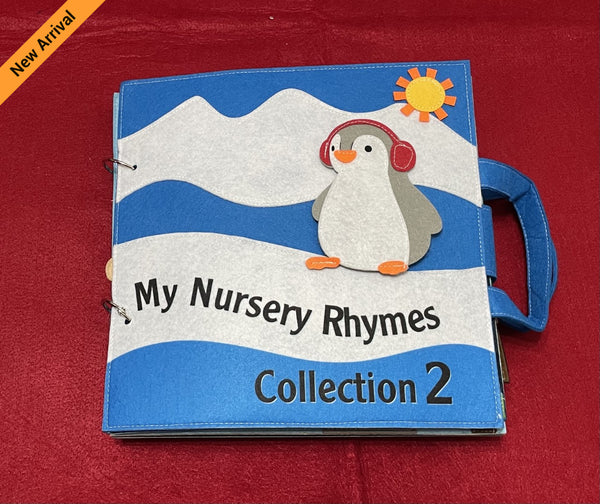 Quiet Book - Nursery Rhymes Collection 2 (Blue)