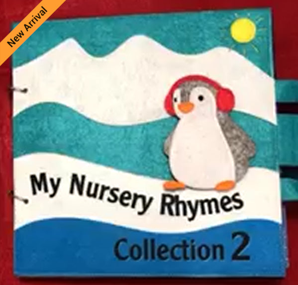 Quiet Book - Nursery Rhymes Collection 2 - JustRead.com.au