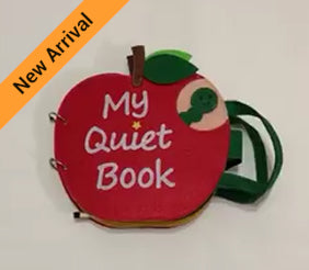 Quiet Book - Apple - JustRead.com.au