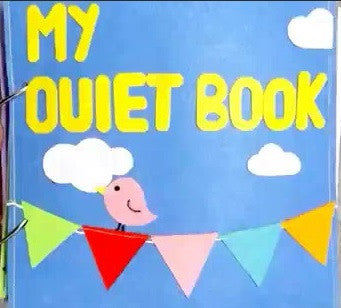 Quiet Book - Bird