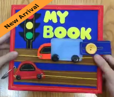 Quiet Book Mini - Car
